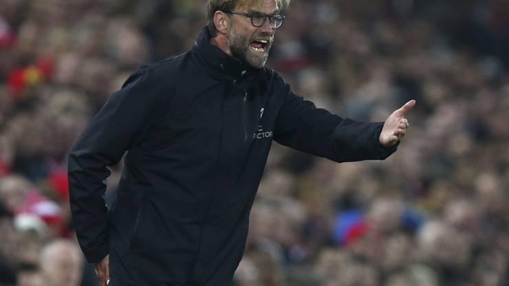 Kassierte mit Liverpool die erste Niederlage seit August: Trainer Jürgen Klopp