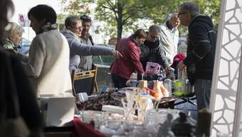 Kofmehl-Flohmarkt im Herbst 2015