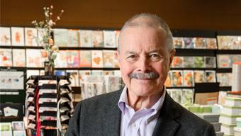 Robert Sailer, Inhaber der Höchli Papeterie: «Heute ist es viel schwieriger, jemanden zu finden, der Verantwortung übernehmen will.» Alex Spichale