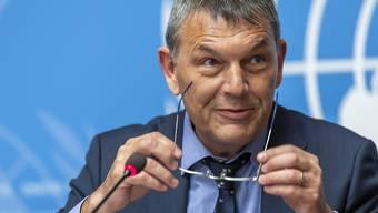 Philippe Lazzarini am 10. Januar 2029 in Genf.