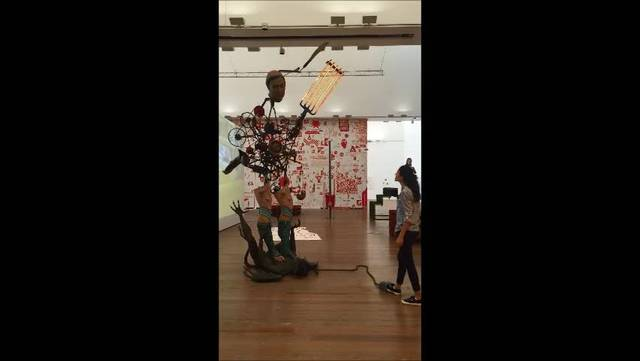 """Michel Landys Ausstellung """"Out of Order"""" im Museum Tinguely 2"""