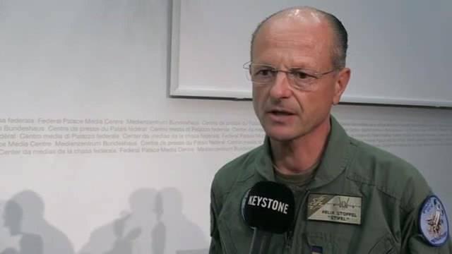 Abgestürzte F/A-18: Chef des Berufsfliegerkorps über die Unfallstelle