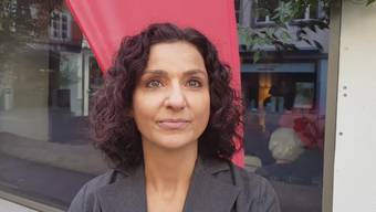 Gabriela Suter, Präsidentin SP Aargau, im Interview mit Fabian Hägler.