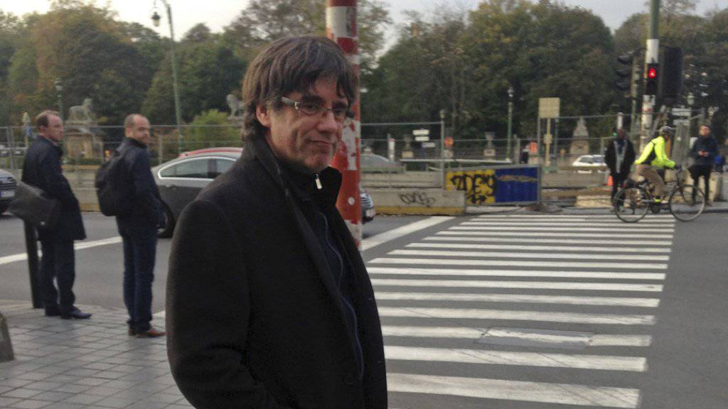 Der ehemalige katalanische Regionalpräsident Carles Puigdemont soll Ende dieser Woche in Spanien vor Gericht erscheinen.
