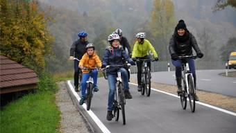 Das zweite Teilstück des Radwegs zwischen Schlossrued und Schöftland ist ab jetzt befahrbar.