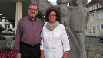 Mechtild Storz-Fromm und Peter Fromm brachten frischen Wind in die Pfarrei St. Marien.