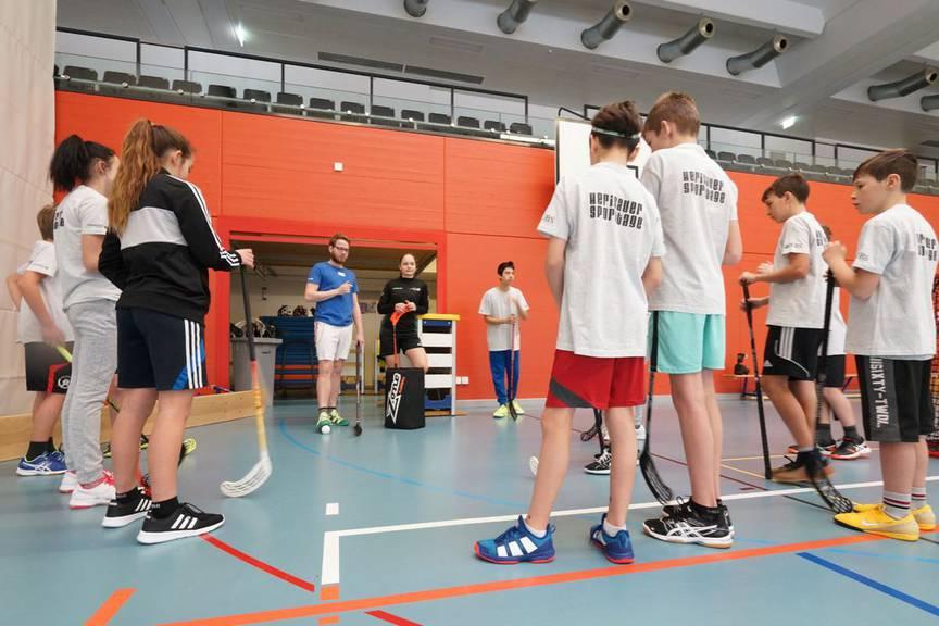 In Herisau treffen sich am Wochenende die Jungen und messen sich in vielen Sportarten. (Bild: igsport.ch)