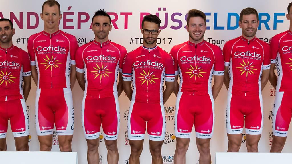 Quarantäne für französische Radteams Cofidis und Groupama