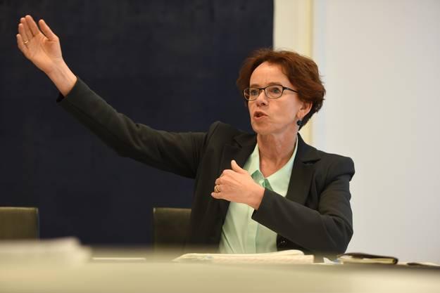 Eva Herzog ist Vizepräsidentin der Finanzdirektorenkonferenz.