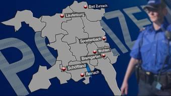 Die Kantonspolizei streicht vier weitere Standorte.