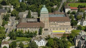 Luftaufnahme der Uni Zürich.