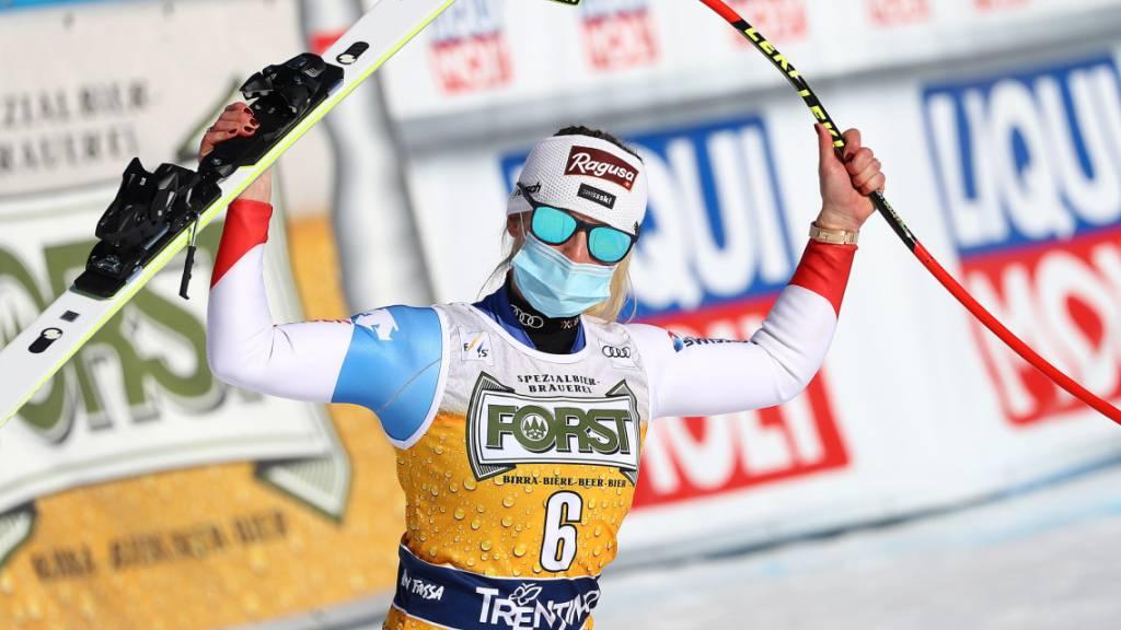 Doppelsieg für starke Frauen! Lara Gut-Behrami triumphiert erneut vor Corinne Suter