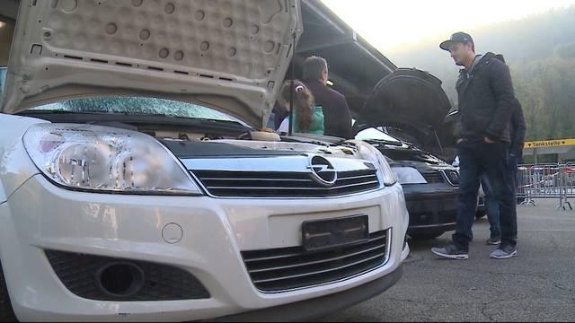 Konfiszierte Raserautos versteigert