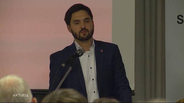 Cédric Wermuth wird für den Ständerat nominiert