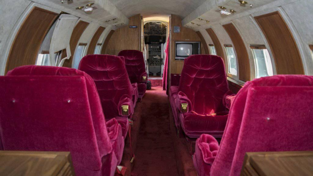 Fluguntauglicher Jet des «King of Rock'n'Roll» versteigert