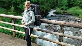 Denise Strasser im Berner Oberland am letzten Donnerstag.