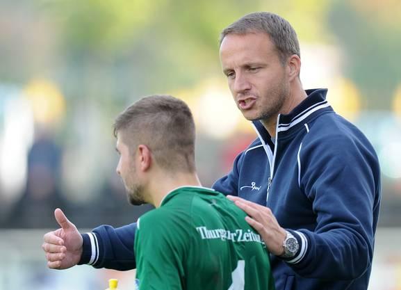 Hodel war 2012 Trainer beim FC Kreuzlingen. © Alexander Wagner