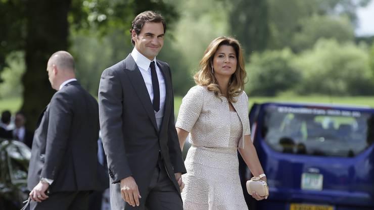 Roger und Mirka Federer spenden eine Million Franken an «die am stärksten gefährdeten Familien in der Schweiz». (Archivbild)