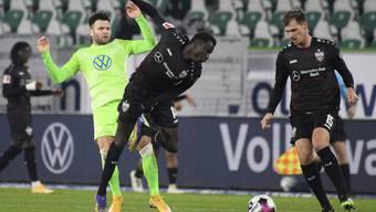 Der Schweizer Renato Steffen spielte gegen den VfB Stuttgart die vollen 90 Minuten durch.