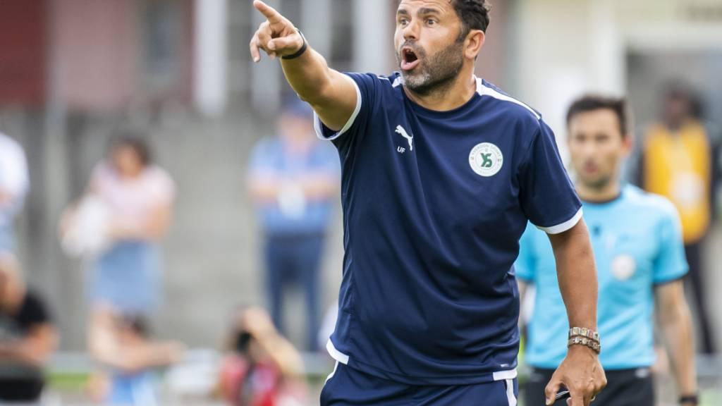 Uli Forte führt Aufsteiger Yverdon zum ersten Sieg in der Challenge League. (Archivbild)