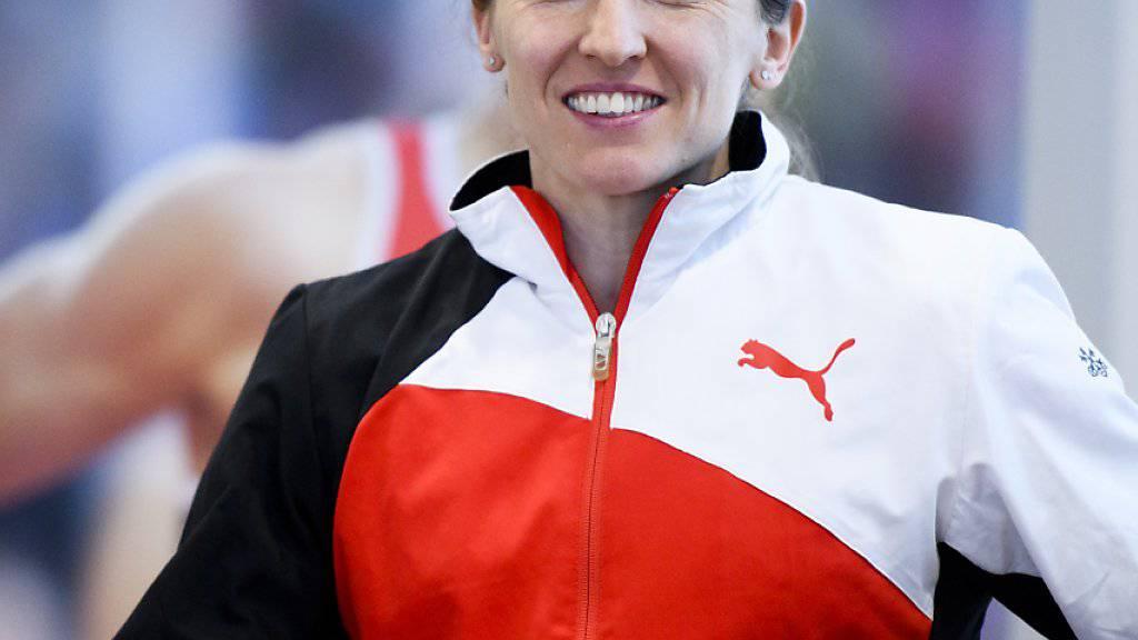 Die Stabhochspringerin Nicole Büchler erreichte mit dem Einzug in den Olympia-Final ihr grosses Ziel