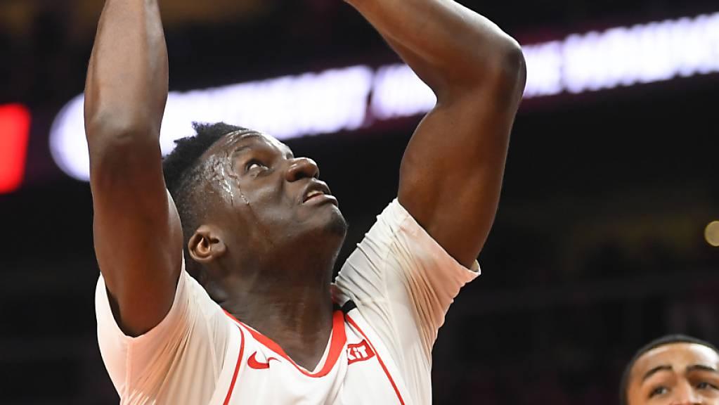 Clint Capela glänzt im Trikot der Houston Rockets