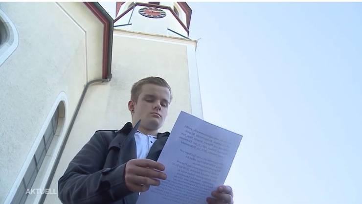 Lukas Spichiger will seine Petition löschen. (Archiv)