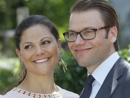 Frischgebackene Eltern: Prinzessin Victoria von Schweden und Prinz Daniel (Archiv)