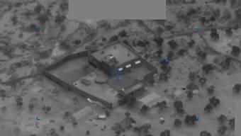 Das US-Verteidigungsministerium veröffentlichte Foto- und Videoaufnahmen vom tödlichen Angriff auf das Anwesen des IS-Führers Abu Bakr al Bagdadi am Samstag.