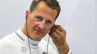 Michael Schumacher soll an einer Lungenentzündung erkrankt sein.