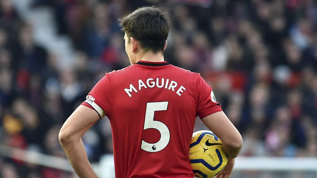 Verteidiger Harry Maguire kostete Manchester United rund 100 Millionen Euro.