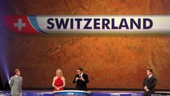 Die Schweiz musste sich bis zuletzt gedulden, bevor sie der Gruppe H zugelost wurde