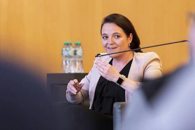 Stefanie Heimgartner: Die SVP-Grossrätin bezeichnet Verschärfungen im Waffenrecht als unnötig und nutzlos.