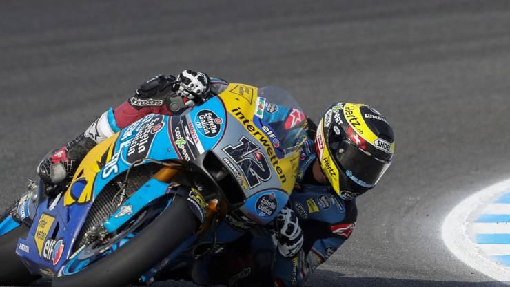 Tom Lüthi hat auf seiner Honda noch Verbesserungs-Potenzial