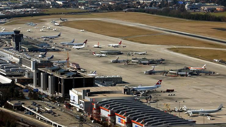 Im vergangenen Jahr stieg das Passagieraufkommen am Flughafen Genf erneut. Allerdings fällt das Wachstum schwächer aus als in der Vergangenheit.