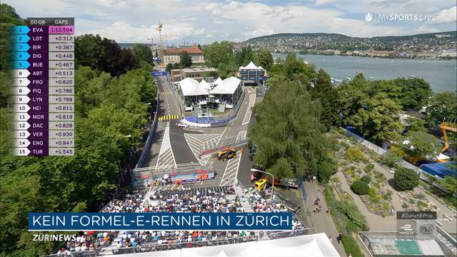 Zürichfest verhindert Formel-E-Rennen