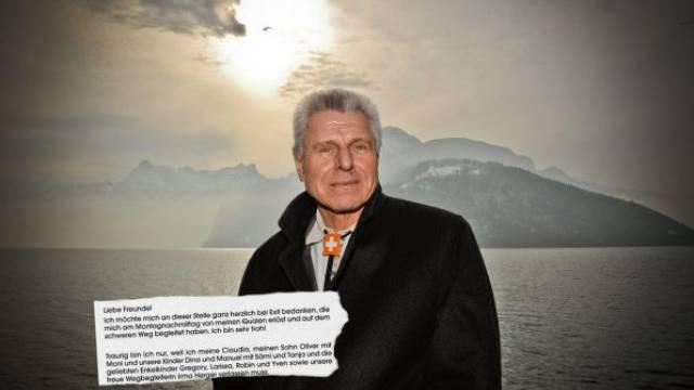 Timo Konietzka erklärt in seiner selbst verfassten Todesanzeige, weshalb er diesen Weg gewählt hat. Foto: rdb - Toto Marti
