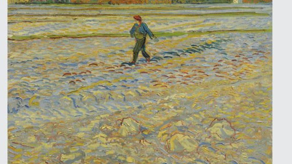 Weltbekannte Bilder wie Van Goghs «Sämann» sind ab Freitag im Kunstmuseum Bern zu sehen.