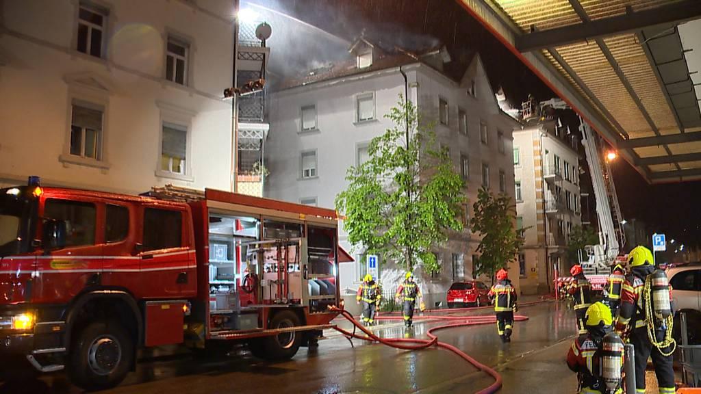 Rorschach (SG): Ein Mann stirbt bei Wohnungsbrand