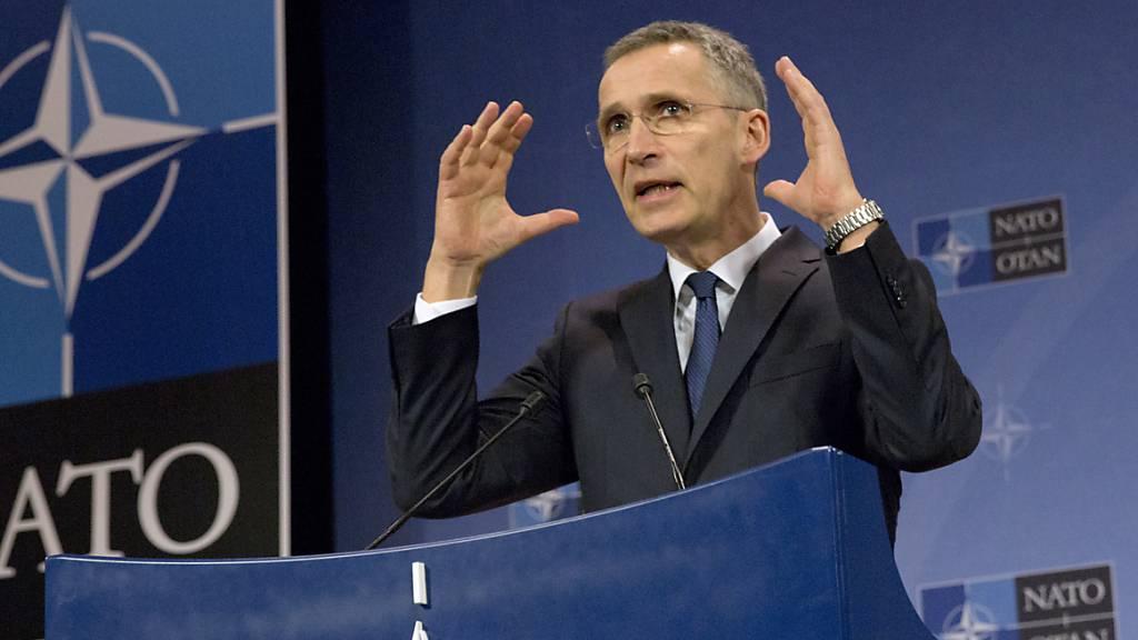Stoltenberg will Nato globaler ausrichten
