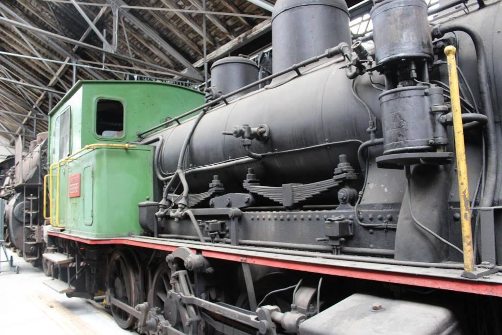 Diese Lok ist nicht mehr in Betrieb (© FM1Today/Fabienne Engbers)