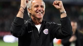 Grund zur Freude für Montpelliers Coach René Girard