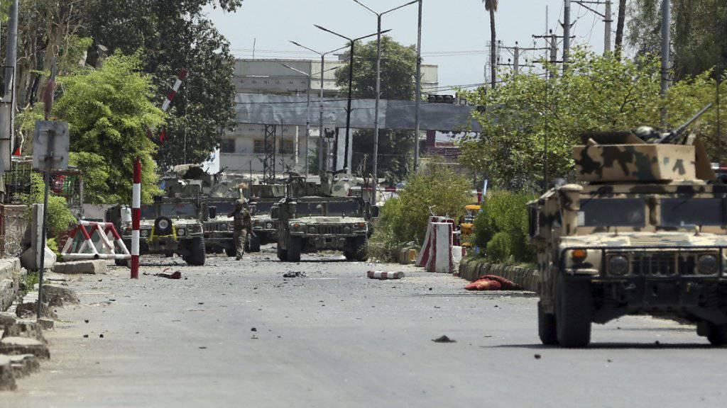 Schwere Gefechte nach IS-Grossangriff auf Gefängnis