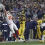 Grandioses Spektakel: Die Los Angeles Rams lieferten sich mit den Kansas City Chiefs ein historisches Duell - in Los Angeles statt in Mexico City