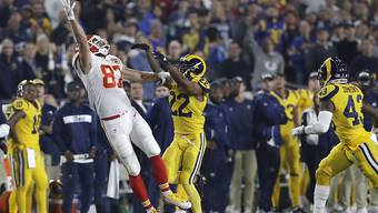 Grandioses Spektakel: Die Los Angeles Rams lieferten sich mit den Kansas City Chiefs ein historisches Duell - in Los Angeles statt in Mexico City