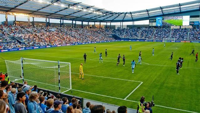 Das neue «Wohnzimmer» von Martin Steuble: Der Sporting Park von Kansas City.