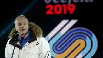 Sein Nachfolger wird am FIS-Kongress im Mai gesucht: Noch-FIS-Präsident Gian Franco Kasper