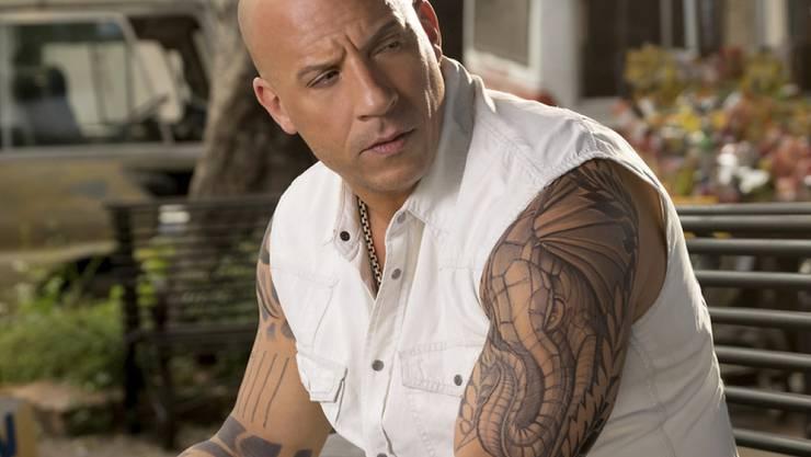"""Vin Diesel als Xander Cage in """"xXx: The Return of Xander Cage"""" hat in den Schweizer Kinos das Wochenende vom 21./22. Januar 2017 beherrscht. (Archiv)"""
