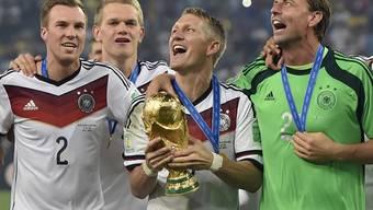 Weltmeister Deutschland belegt in der neuen FIFA-Weltrangliste hinter Argentinien und Belgien neu nur noch Rang 3