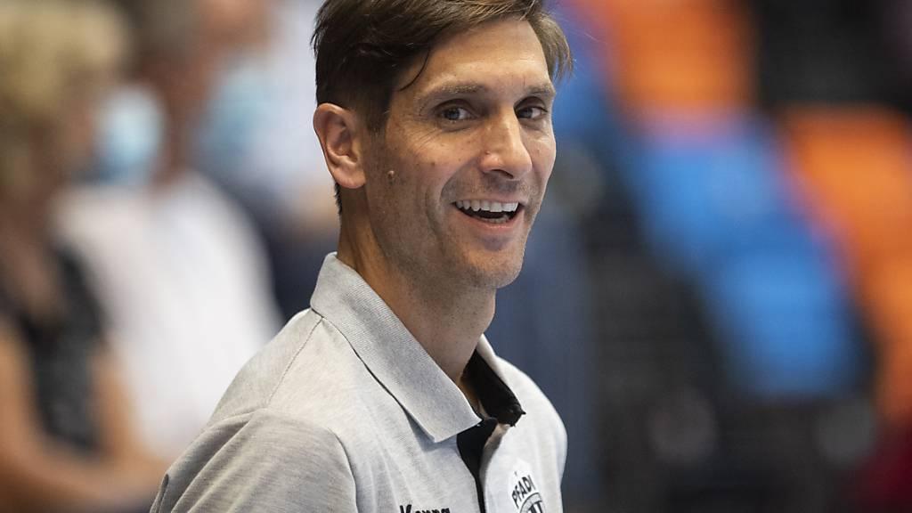 Adrian Brüngger gewann mit Pfadi dreimal den Cup, aber die Meisterschaft konnte er bislang noch nicht für sich entscheiden